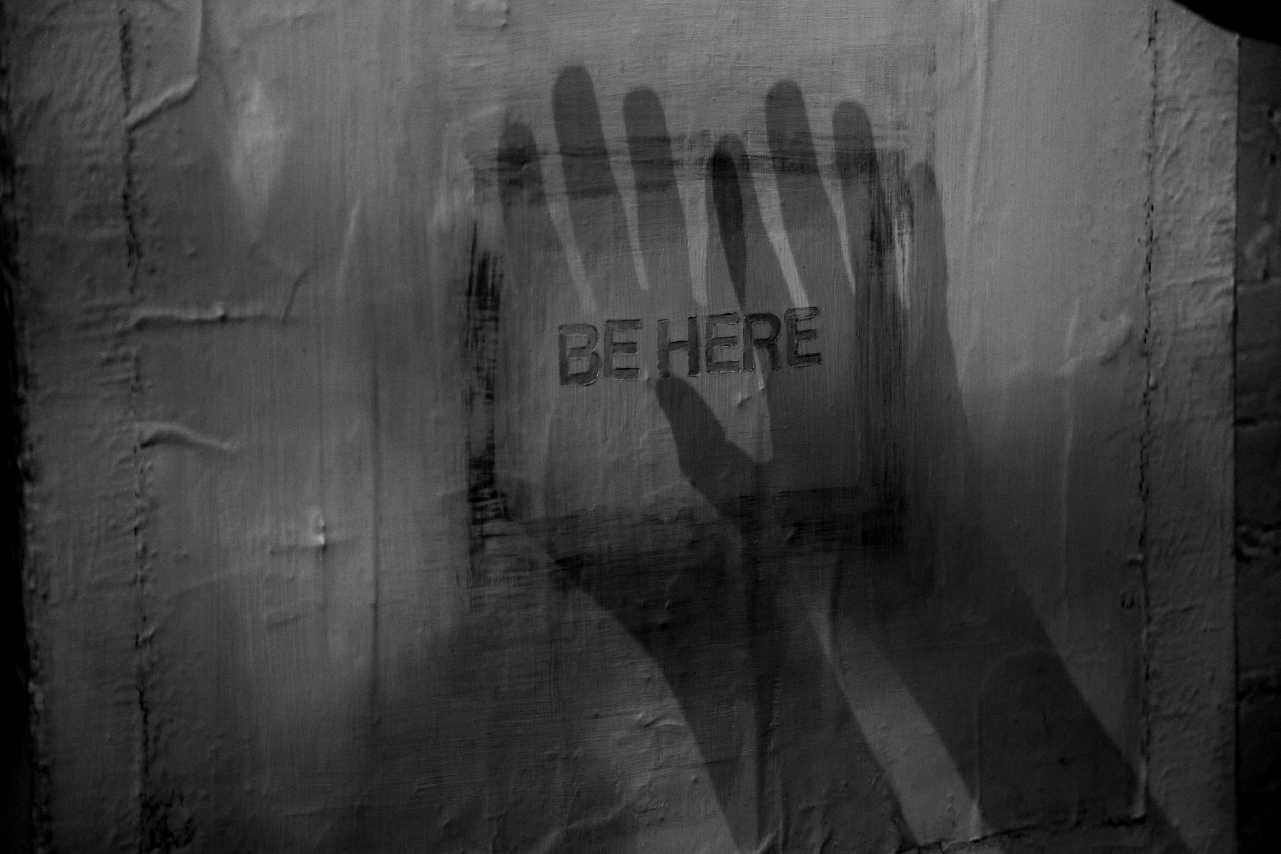 Here. I am.