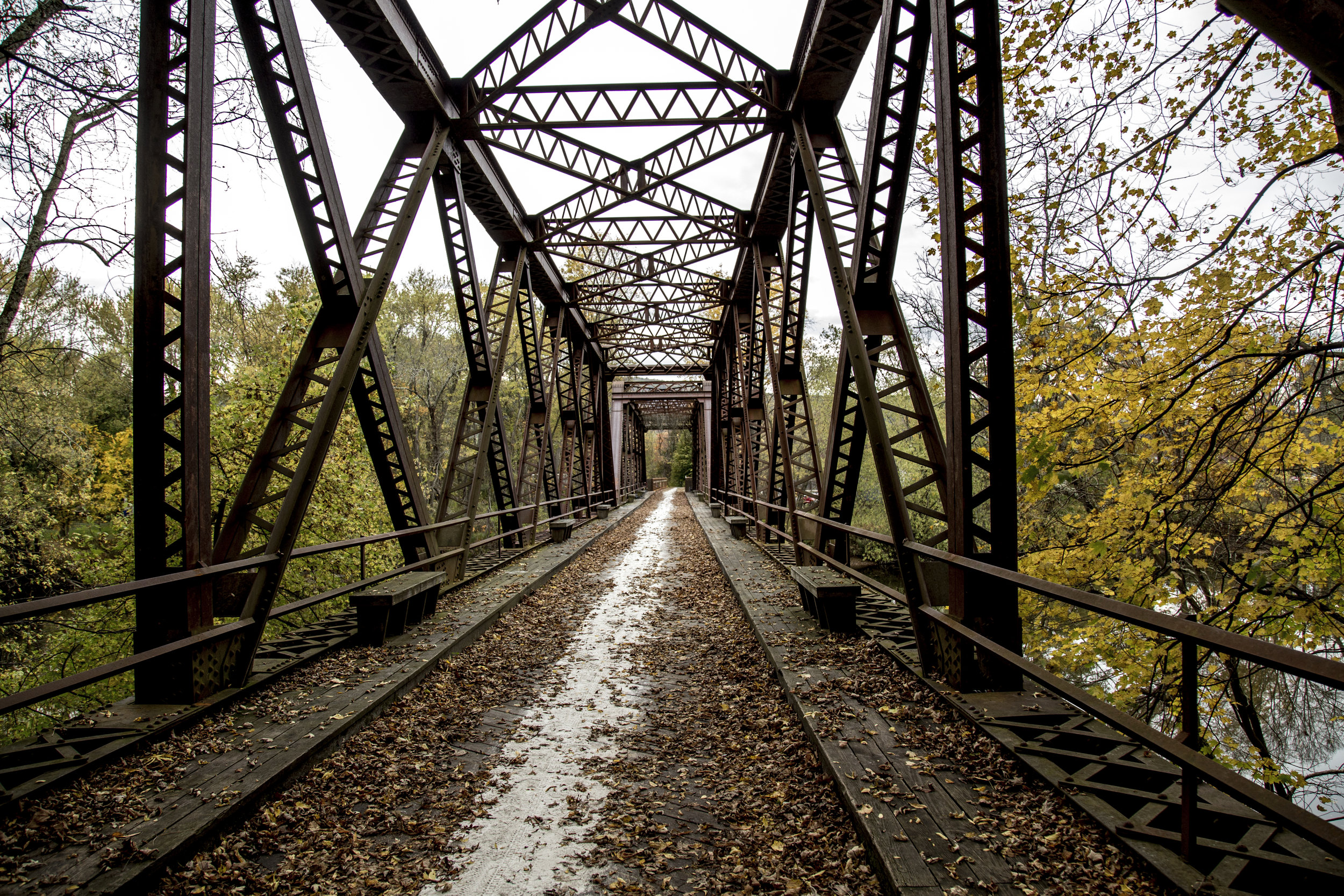 The focus on the path of a bridge may push us to forget the abyss that once mended the gaps.
