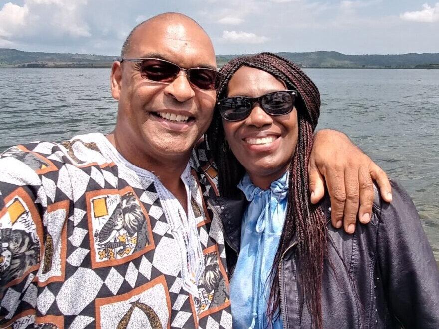George and Mukarabe Makinto Founders of Amahoro International, Inc.