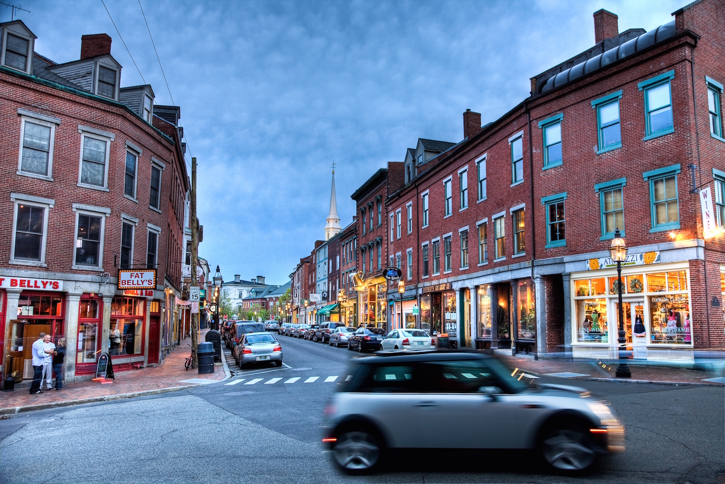 Beautiful shot of downtown Portsmouth by my friend Philip Cohen of thedailyportsmouth.com