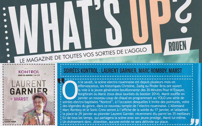 What's Up - FR - January 2015