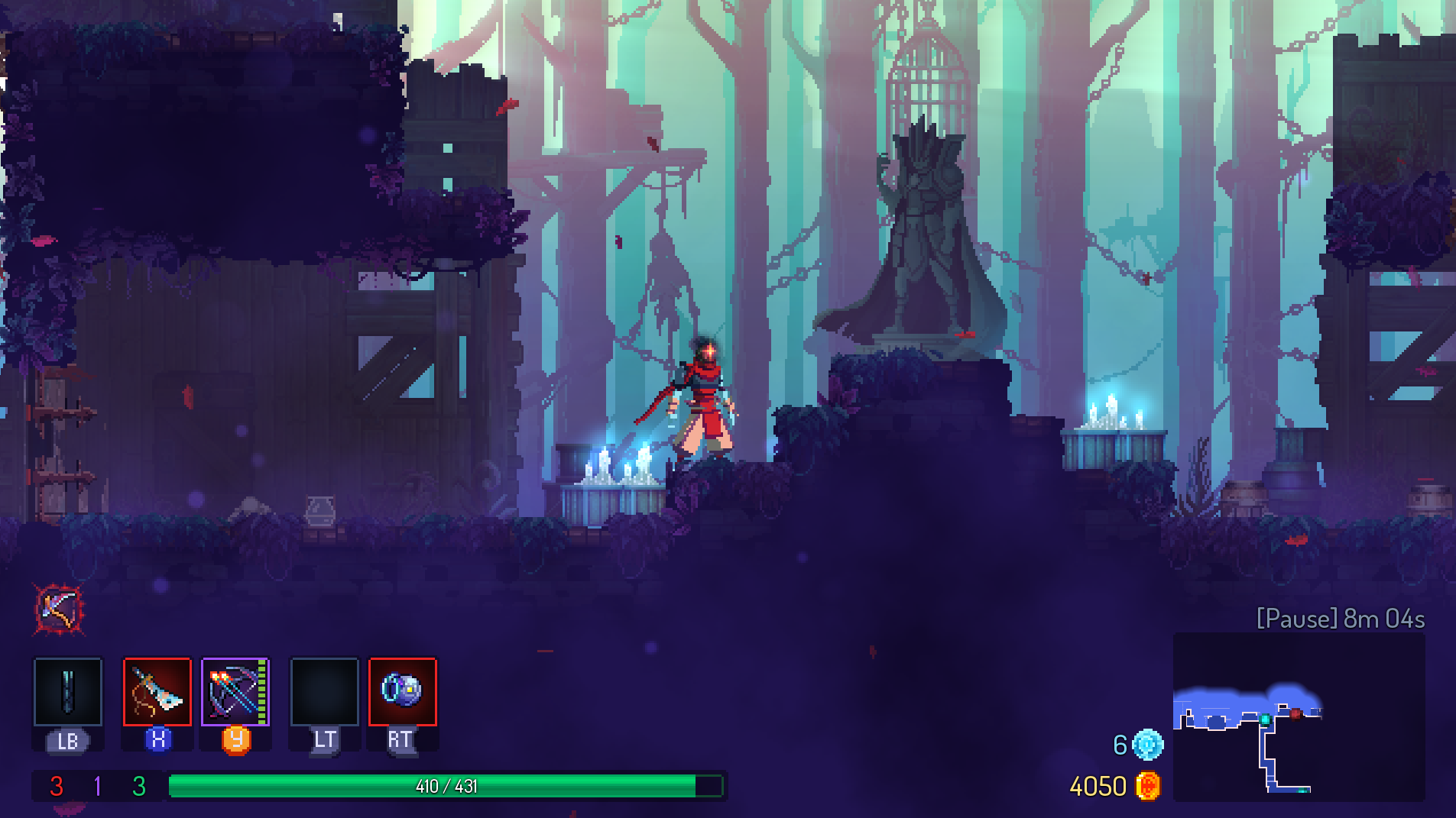Dead Cells offers something for everyone in a rich, action-packed world.