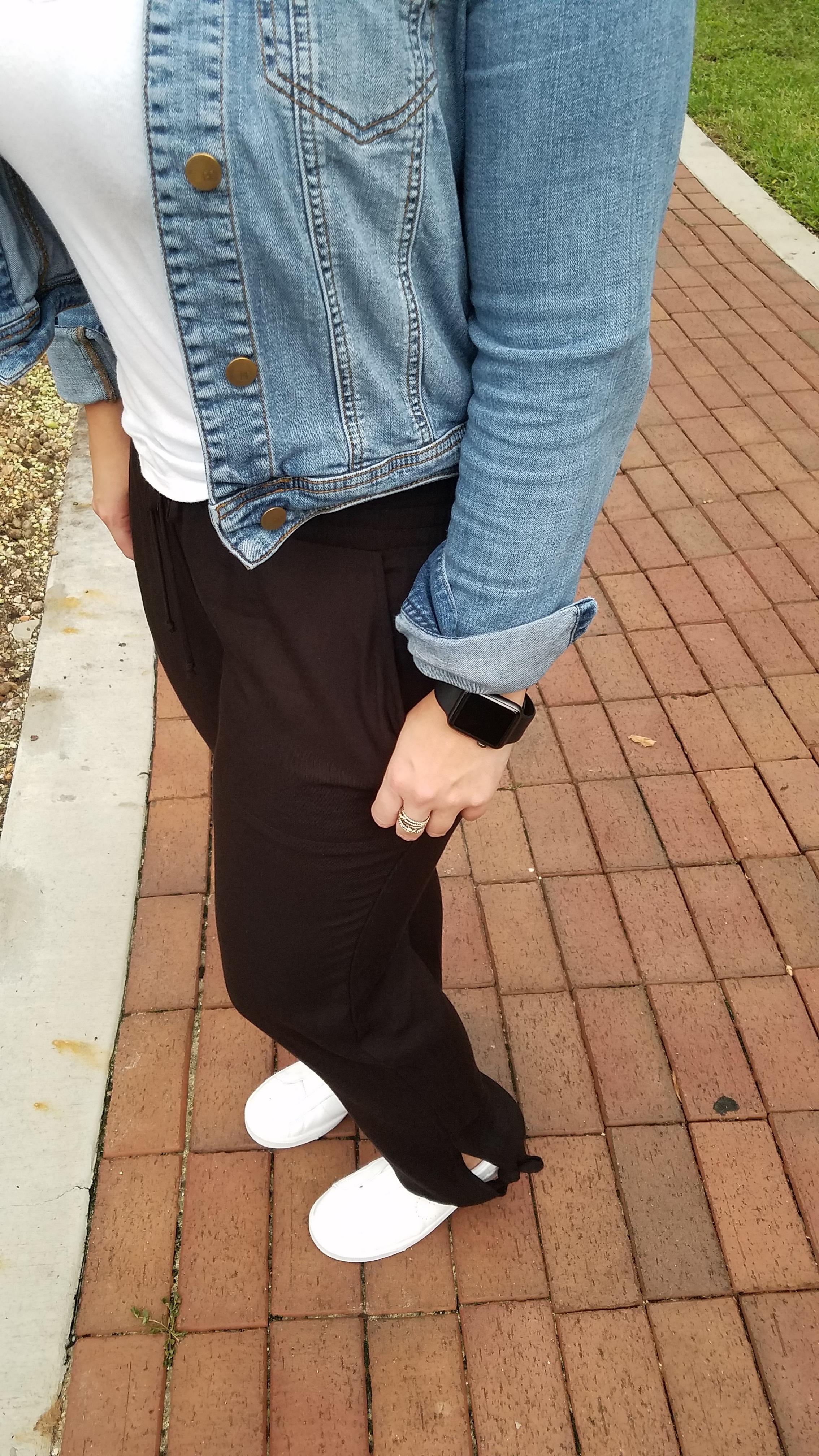 Melanie Mineau Black Pants