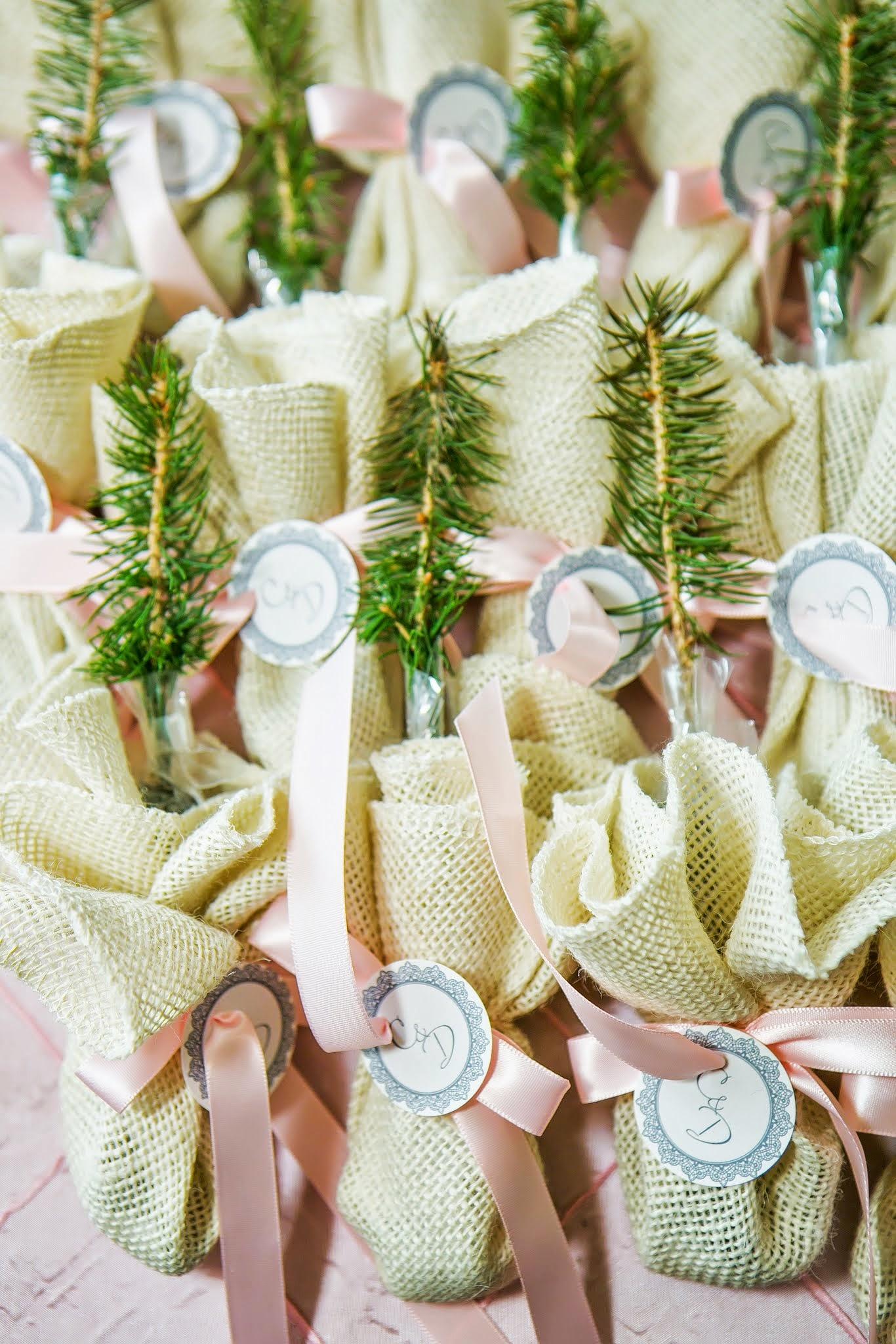Tree Wedding Favors