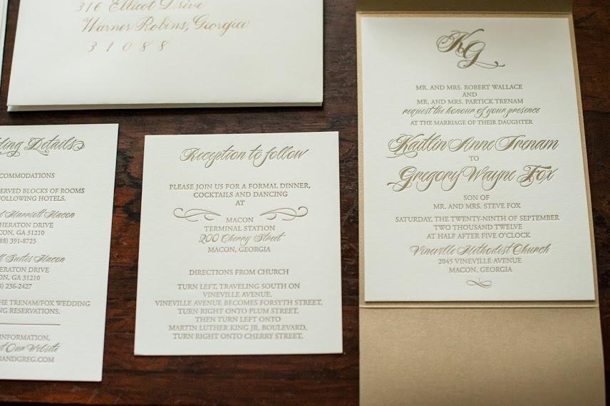 Gold and Ivory Letterpress Invitation.jpg