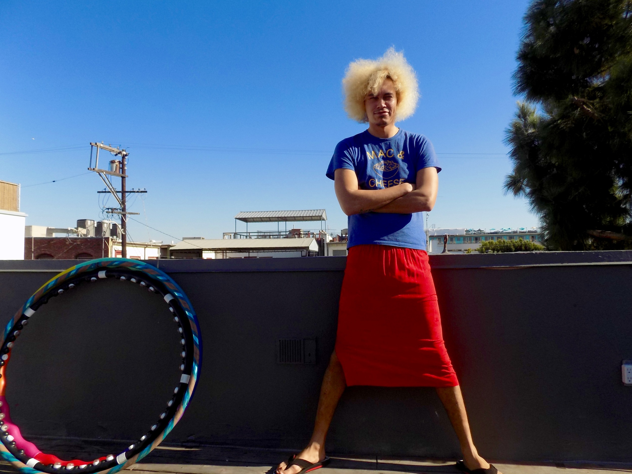 Men in Skirts, by Venice-based author Nika Cavat, explores what happens to fashion, and other things, when they are adopted into an upscale economic environment.