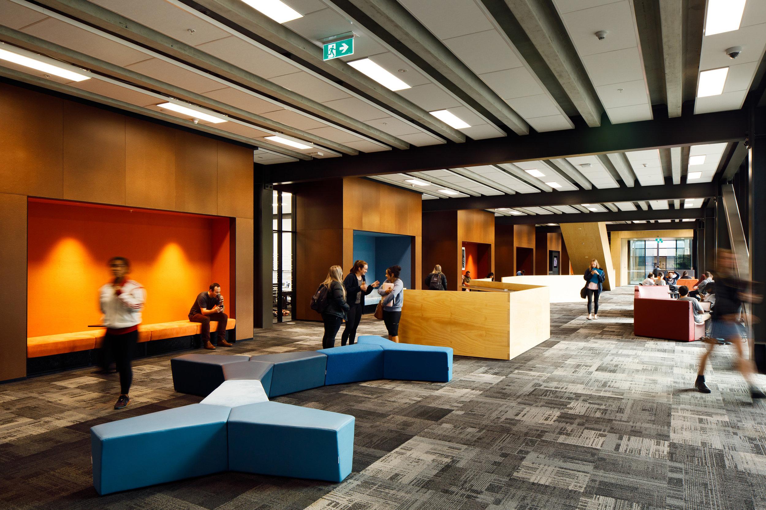 AUT's new Mana Hauora Building - Jasmax Photos @ Jason Mann