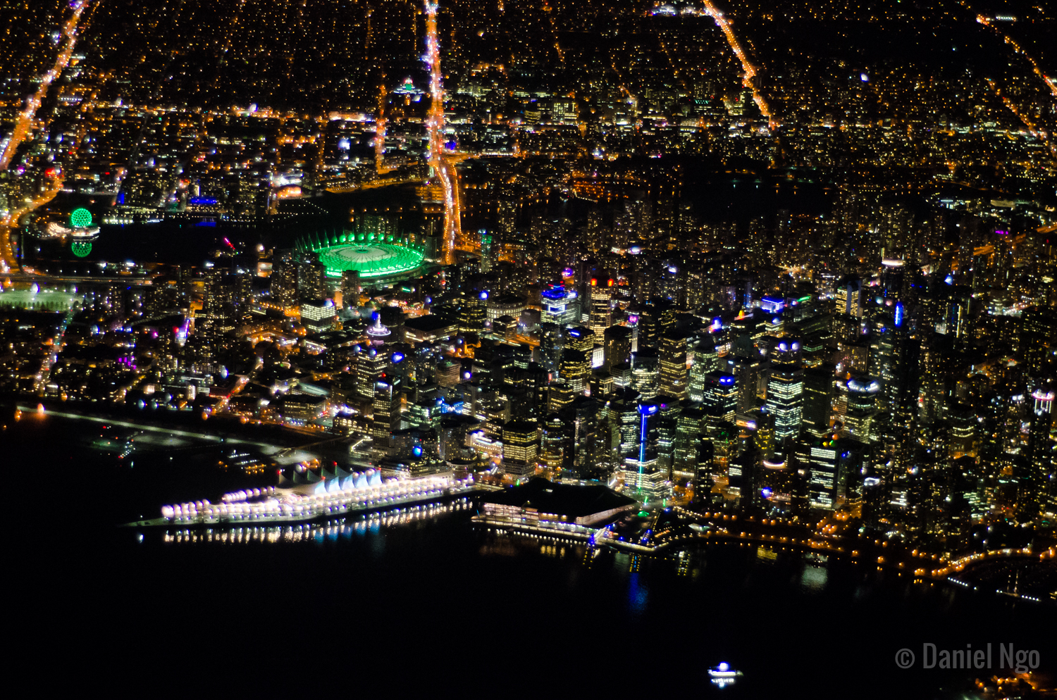 Night Flight Series - Downtown View 2