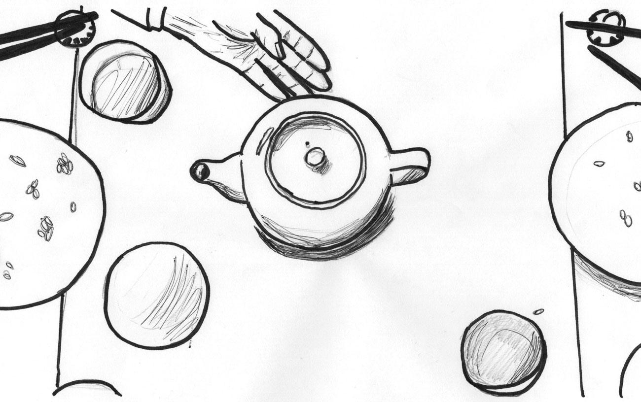 Sketched Composition