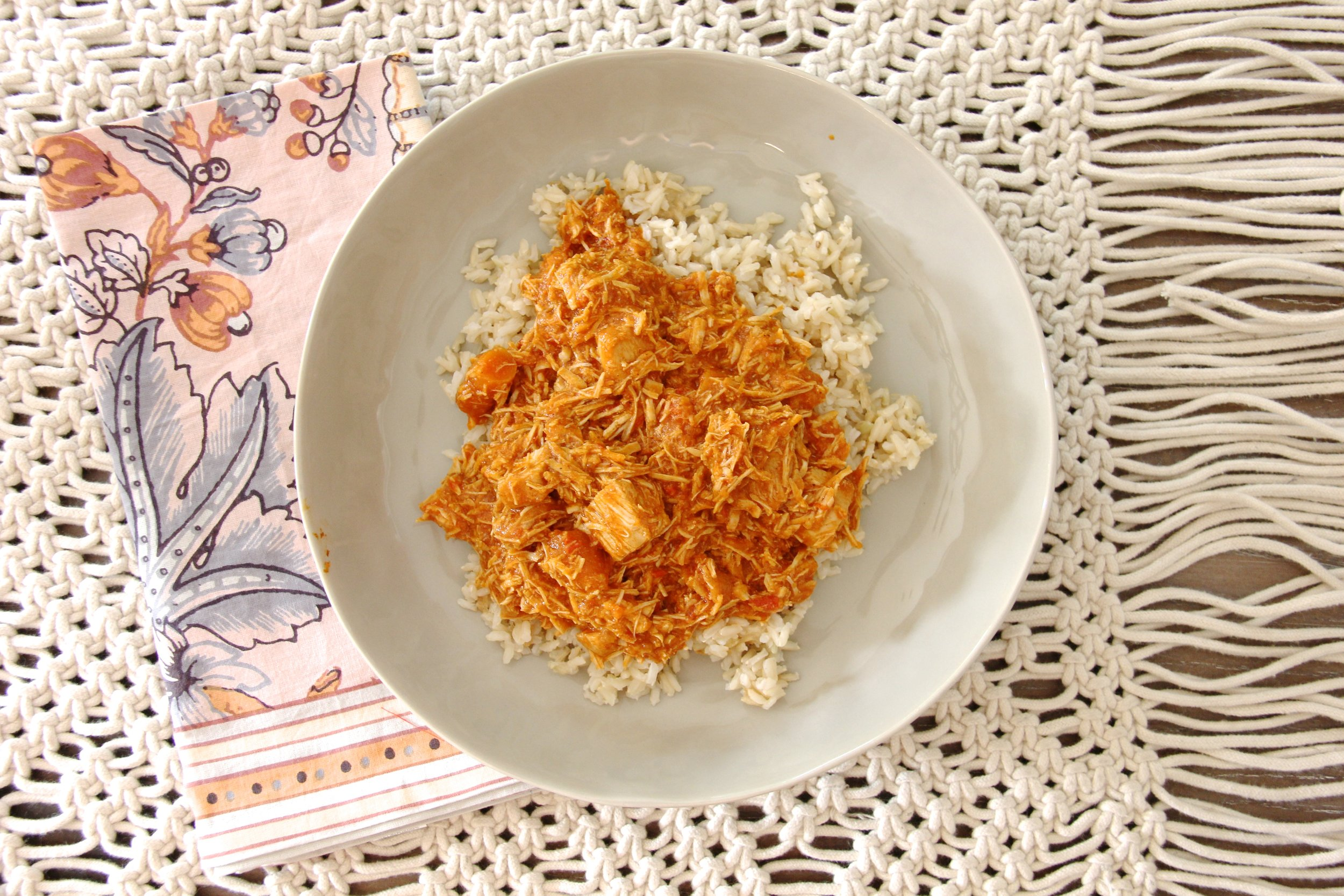 Slow-Cooker Coconut Curry Chicken