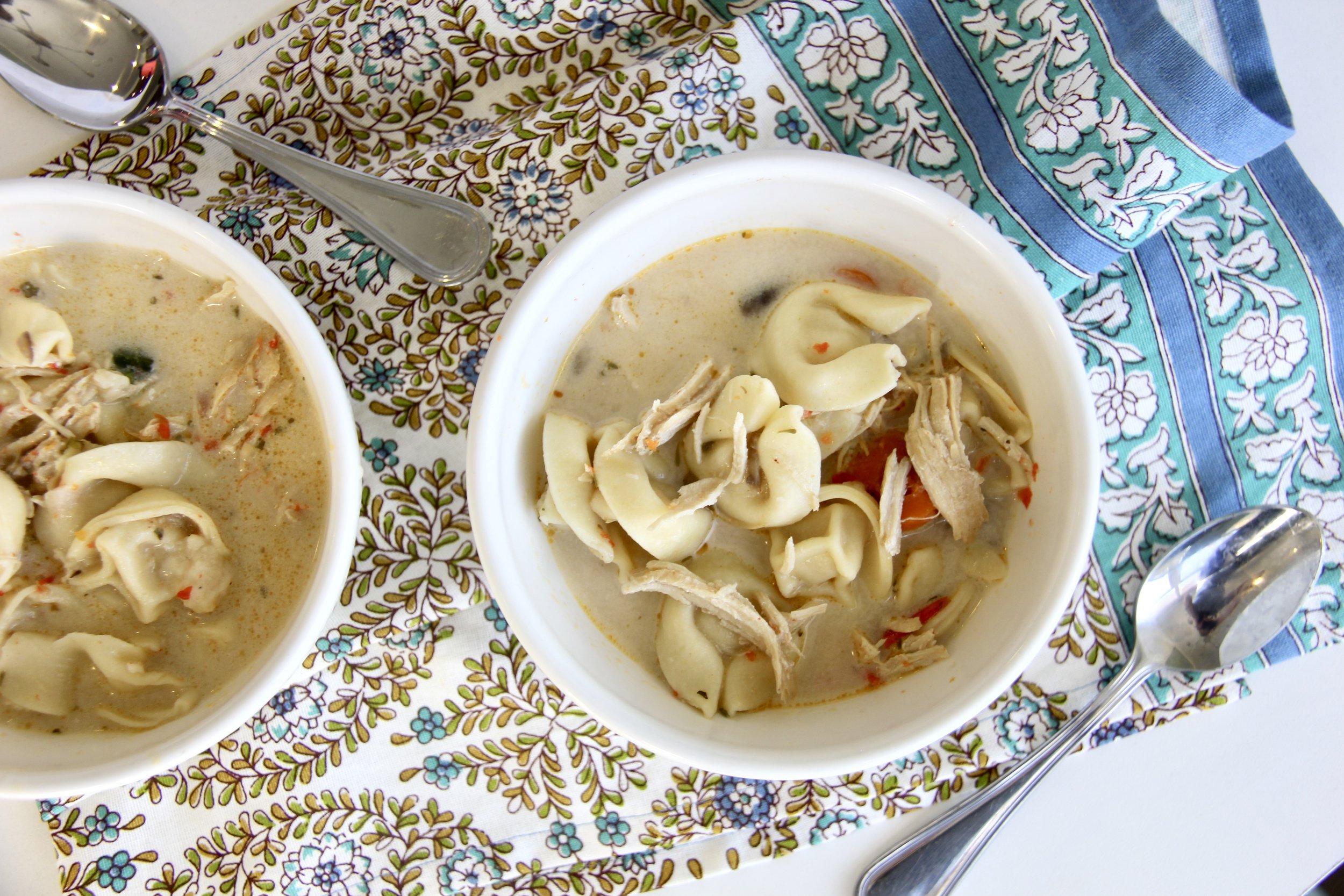 Instant Pot Fall Tortellini Soup