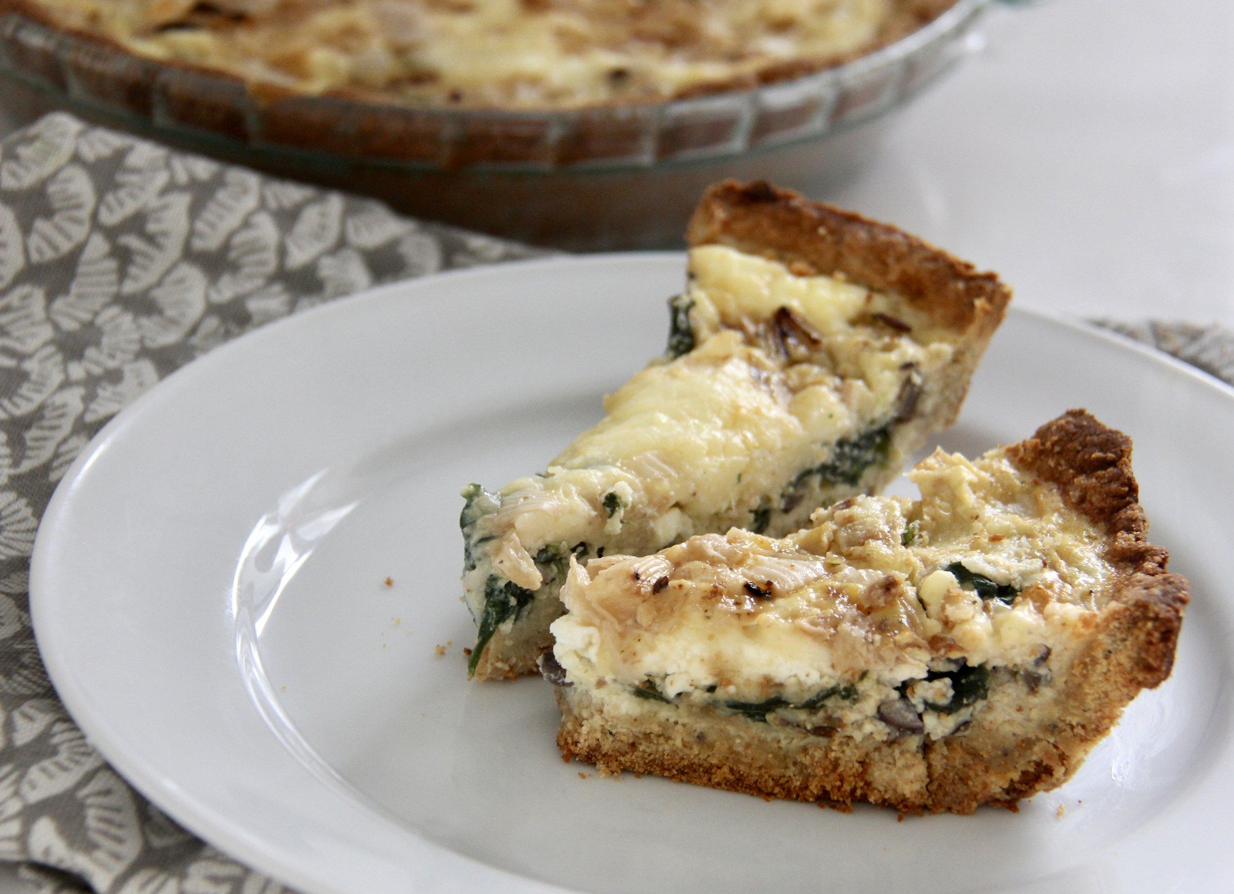 Kodiak Cakes Quiche