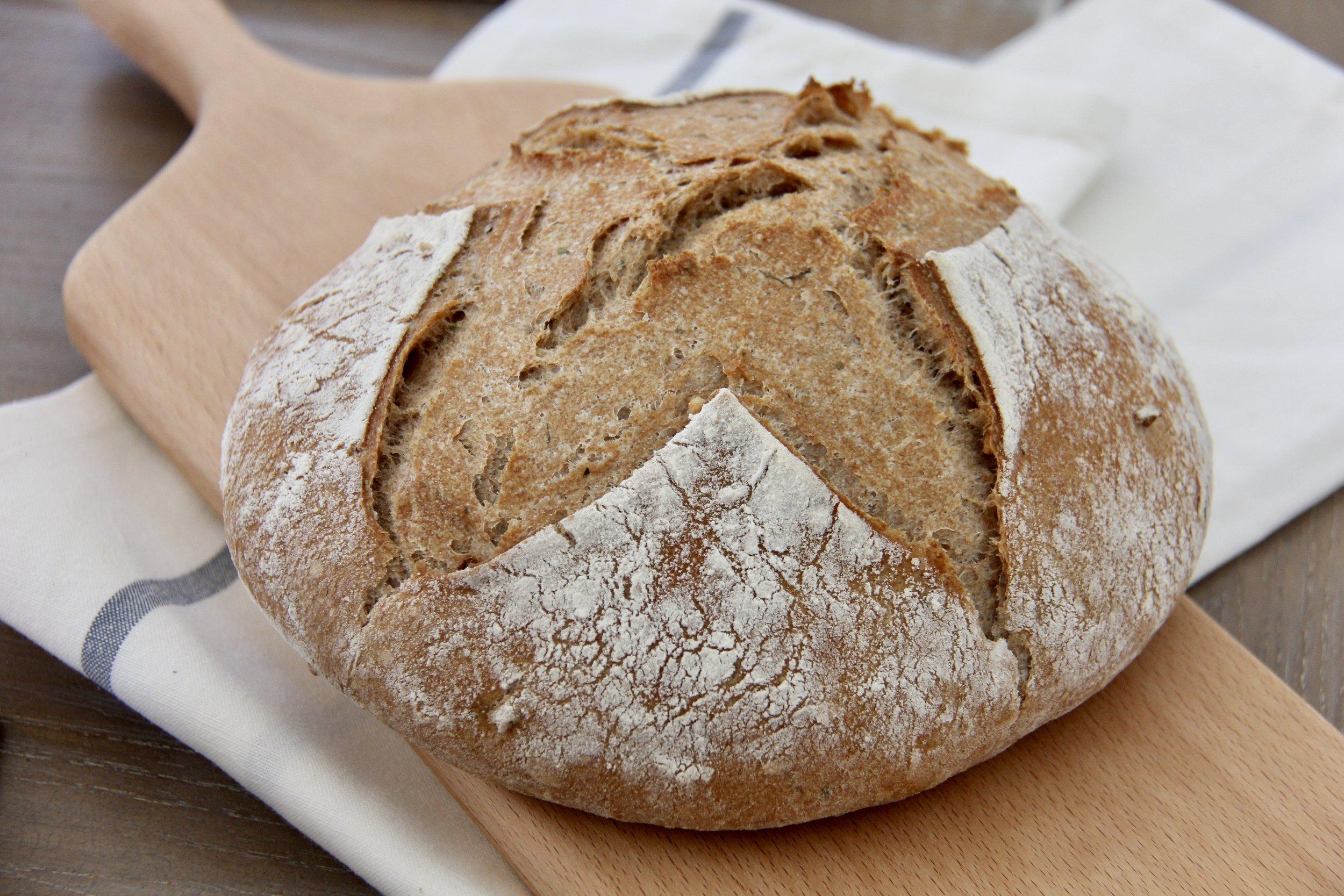 Bry's Whole Wheat Artisan Bread