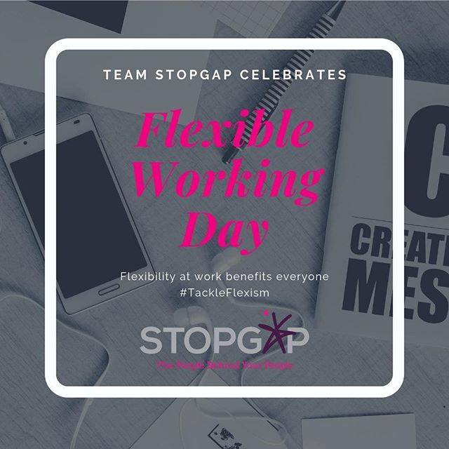 Repost from @stopgap_aus - Today is 'Flexible Working Day' and flexible working requires flexible mindsets, and flexible work styles. We champion this in all forms at Team Stopgap. Flexibility allows people to work in ways which gives them the opportunity to achieve their best, and their employers to reap the rewards. . . . . . #FWDay2019  #FlexWorkFullLife  #GenderFlexGap  #TackleFlexism #recruitment #stopgapjobs #digitaljobs #advertisingjobs #recruitmentagency #recruiting #recruitmentlife #job #sydneyrecruiter