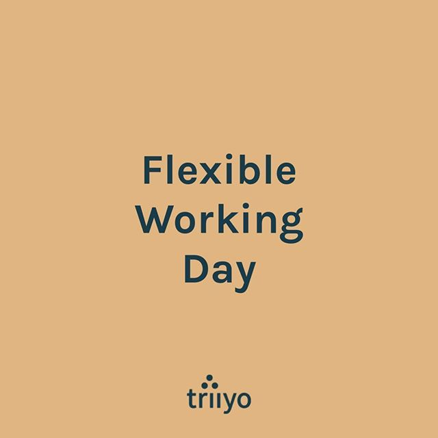 Repost from @hellotriiyo - What does flexible working mean to you?  At @hellotriiyo we believe that everyone should have access to flexible work, as this will take the stigma away from parents, and specifically women.  When men are encouraged to work flexibly, when leaders openly work flexibly, and companies genuinely promote flexible work, this will shift the dial on the perception of parenting in the workplace.  This allow more men to actively participate in parenting, which in turn allows more women to continue in their careers.  In doing so, there'll be more women in leadership roles, the pay gap will be addressed, the mental load for women will be reduced, and families will be happier.  #FWDay2019 #allrolesflex #flexforall