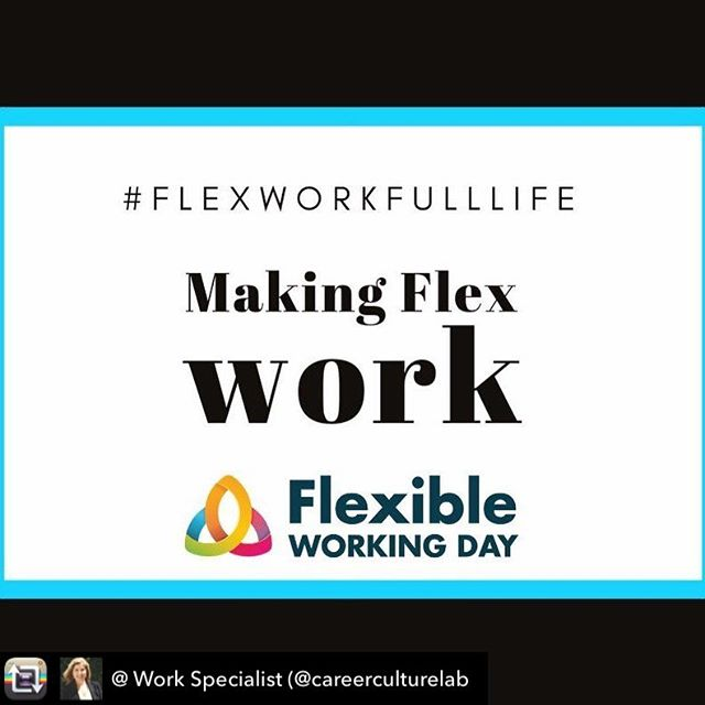Repost from @ Work Specialist (@careerculturelab - Today is International Flexible Working Day. How fantastic that we have a day to highlight the benefits of flexible work for both employers and employees. Thank you Flexible Working Day!  I started my own business in order to gain the flexibility I craved while working. Now I am committed to creating a business that provides the opportunity for flexible work for others. My first employee is currently travelling around Australia - how is that for flexible work and providing the opportunity for someone to work and experience life at the same time #flexworkfulllife  Creating flexible working arrangements does require a flexible mindset, a high degree of trust and while it may not work for all roles it is something that many businesses could explore. Check out the website  https://lnkd.in/f2uCExz for more info.  #fwday2019 #GenderFlexGap #TackleFlexism #careerculturelab # #travelwhileyouwork