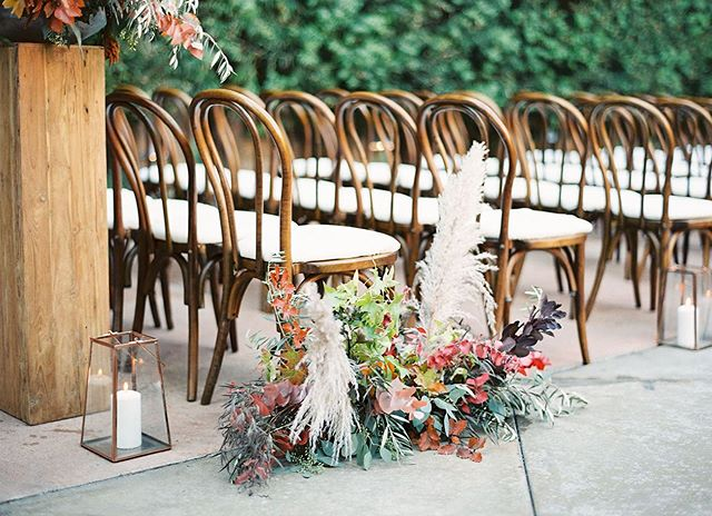 Celebrating the first day of fall, AND that this lovely autumn inspired wedding by @sterling_social is featured on @greenweddingshoes today 🍂