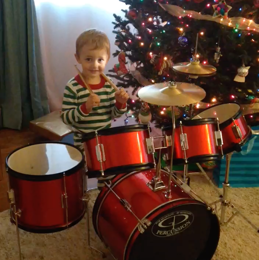 My son, Christmas 2013