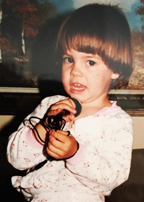 A young Jen, photo provided by Jen Holub