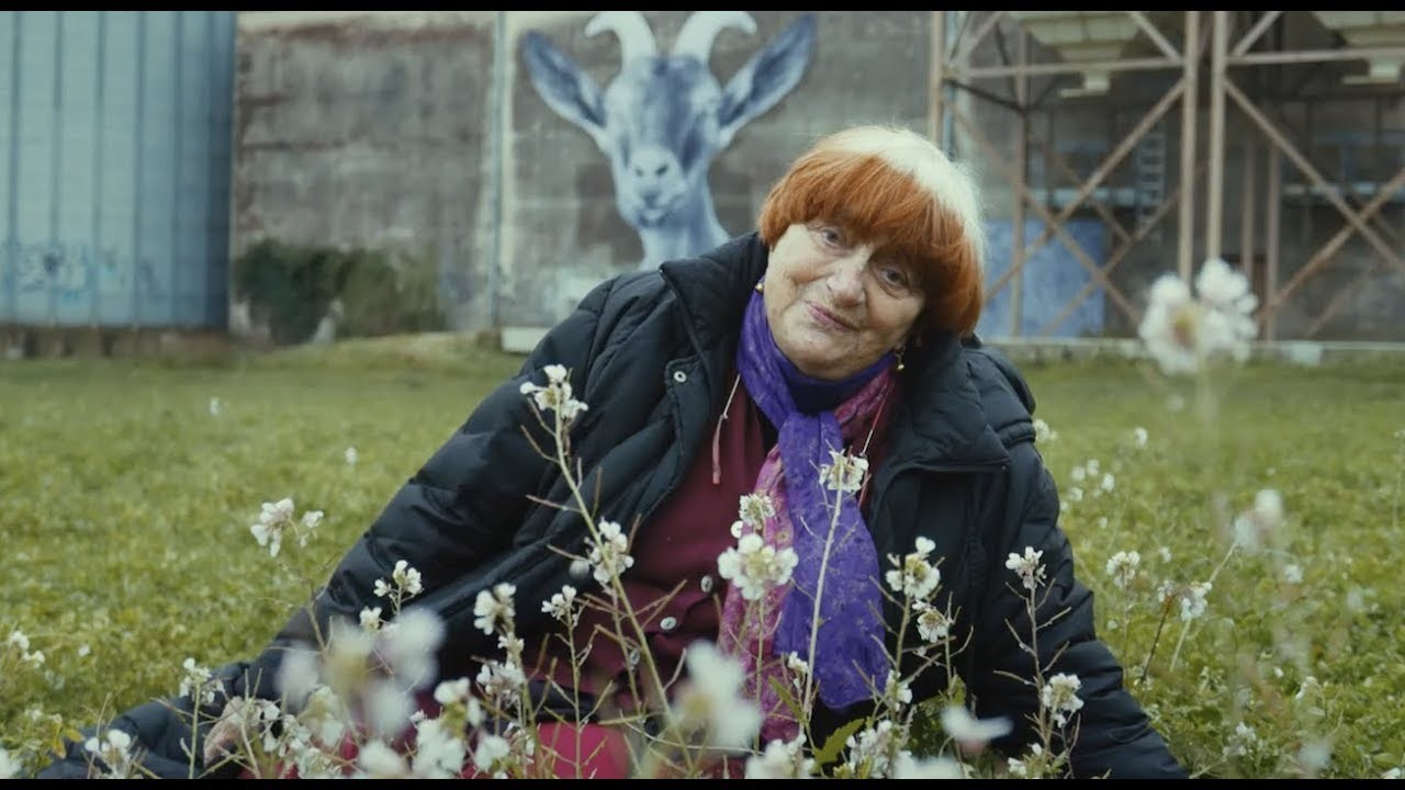 Agnès Varda in her film  Faces Places