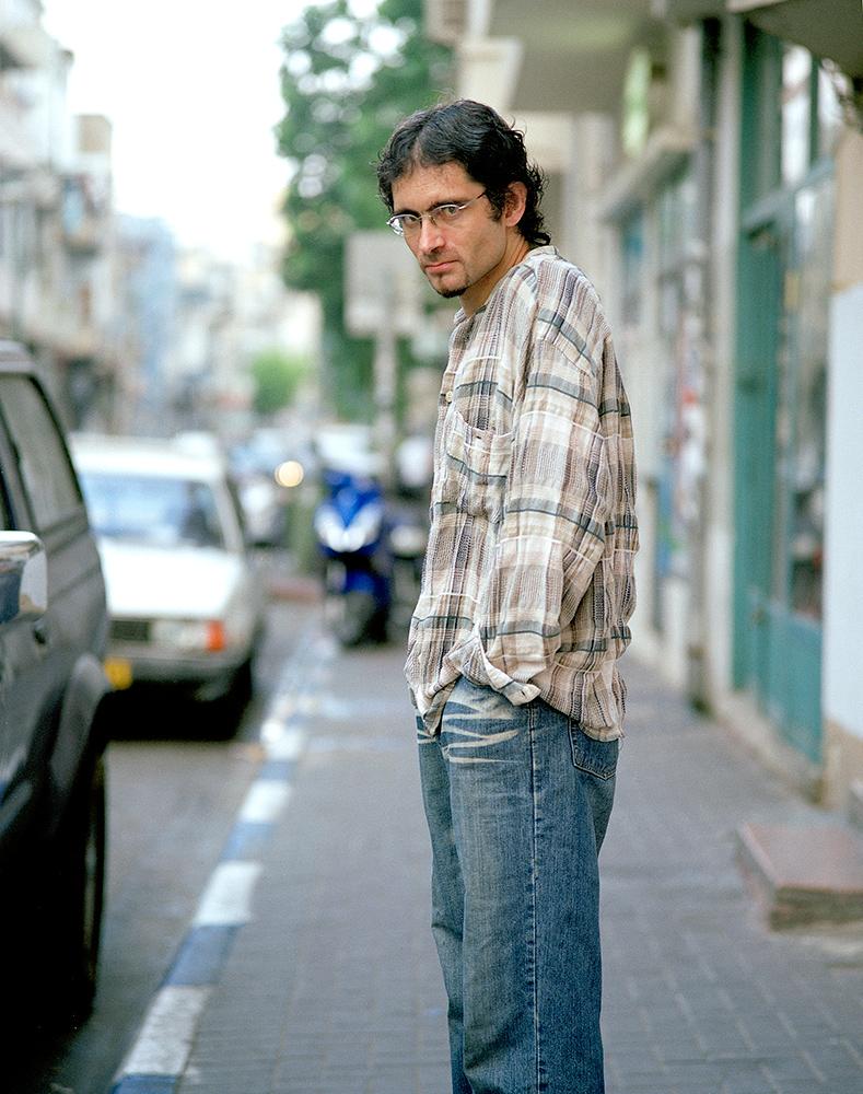 Medium: 6x7 negative film Year: 2007 Place: Florentine, Tel-Aviv