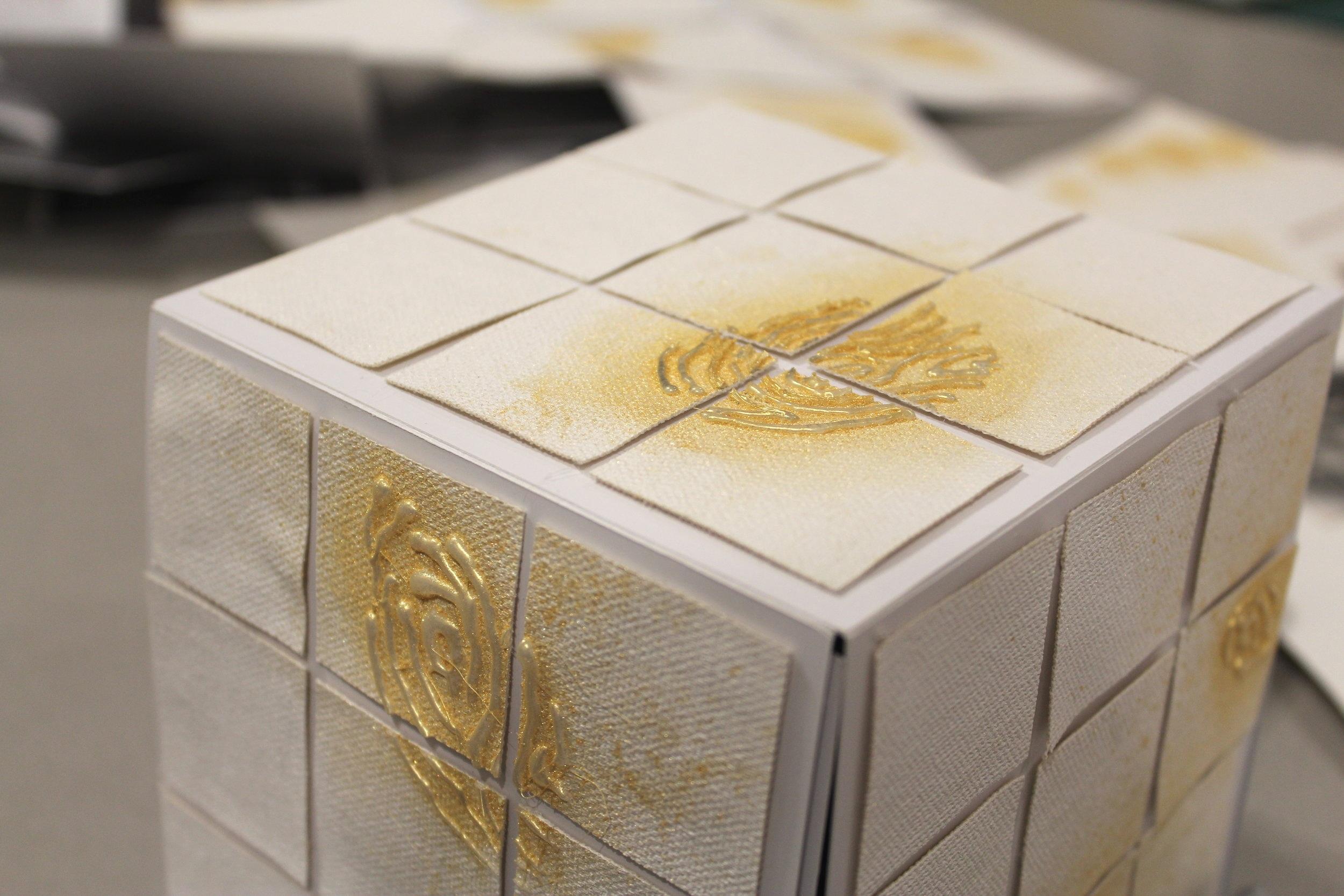 Adelaide's Blooming Rubik's Cube.JPG