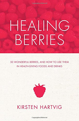 Cygnus Book Club REVIEW    The companion volume to Healing Spices, this book illuminates the many benefits of berries in meals and drinks. We all love smoothies but only now are scientists, cooks and indeed the general public waking up to their immense health benefits. Again there are 50 profiles of the various berries, like bilberries, blueberries, rose hips and sloes, so many of which are not that hard to get hold of. Kirsten also of course flags up the great joy in foraging and collecting the berries for yourself. And then there are the recipes – not all drinks and desserts! There are main courses like Pasta with Walnut and Blackcurrant Pesto and Rose Hip Risotto. It's an immensely fun and educational book.
