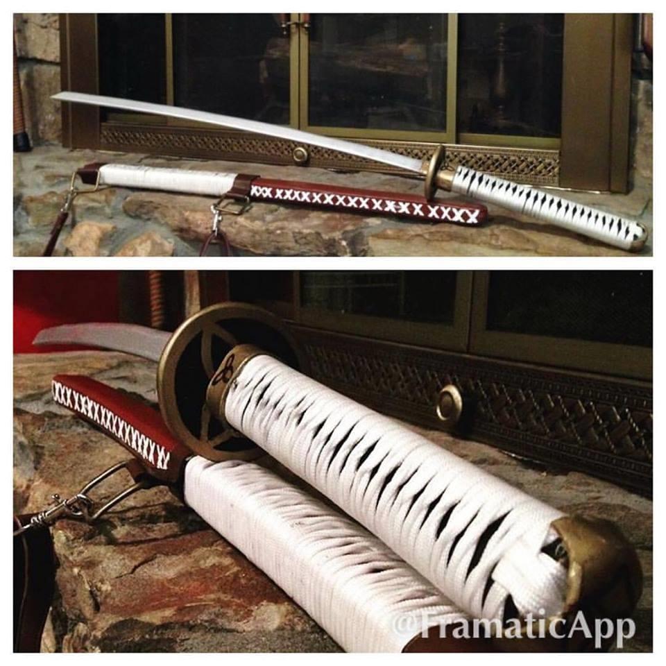Michonne's Samurai sword