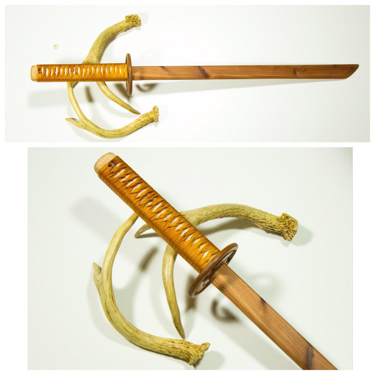 Golden Cedar Ninjato