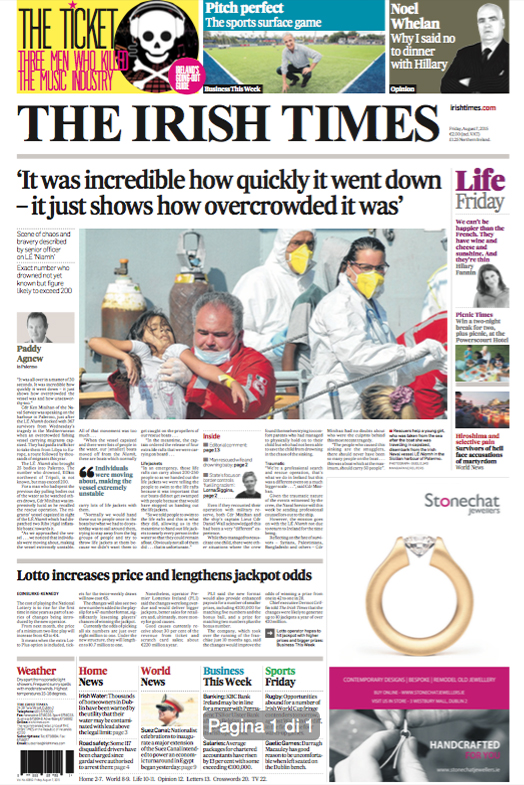 The Irish Times — August 7, 2015