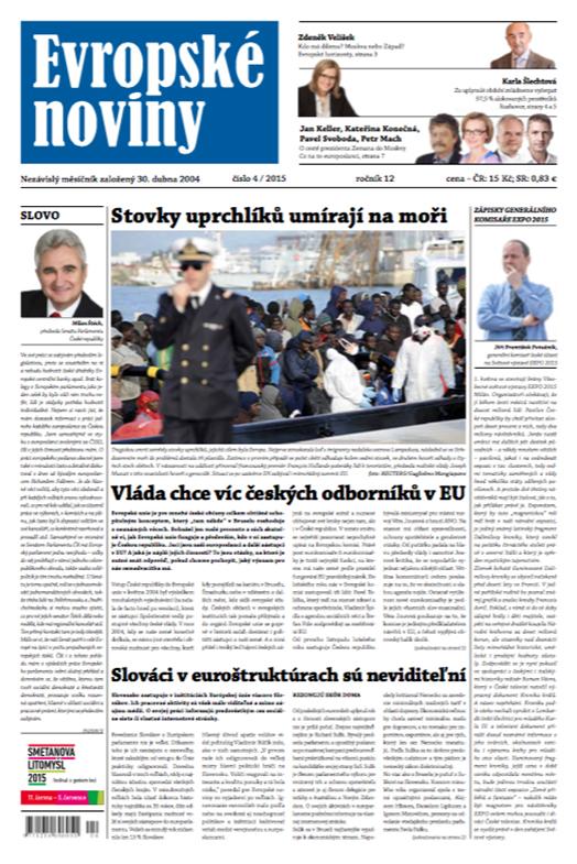 Evropské Noviny — June 4, 2015