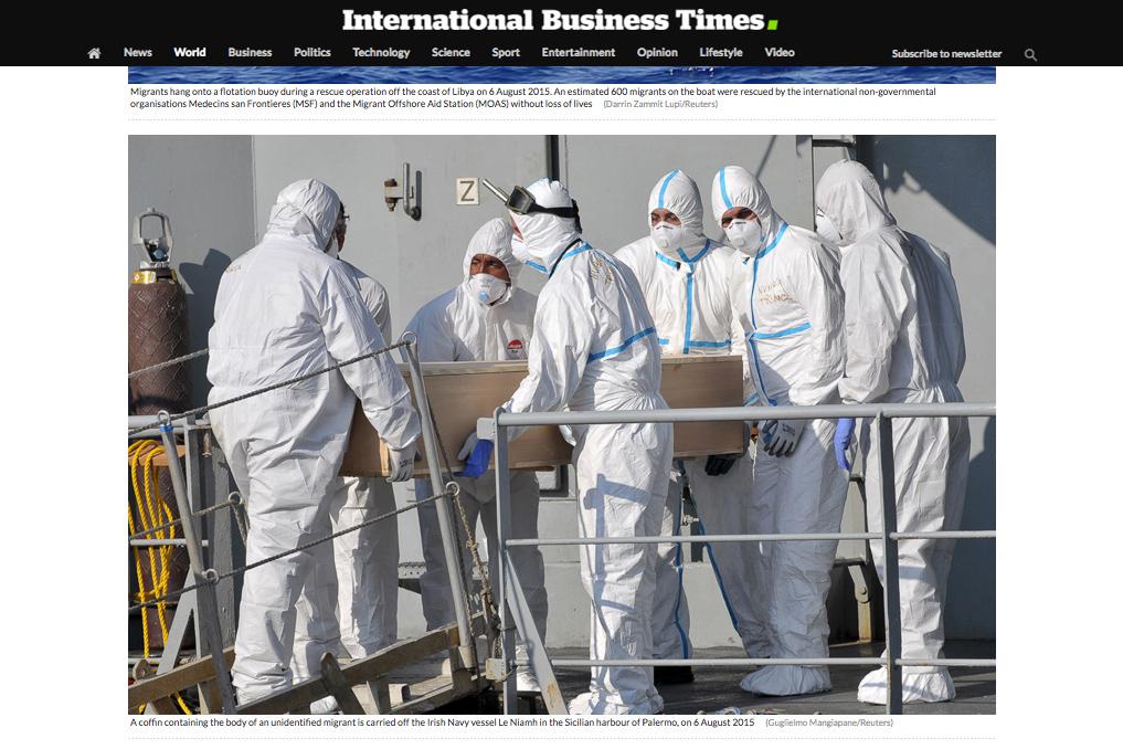International Business Times — August 28, 2015