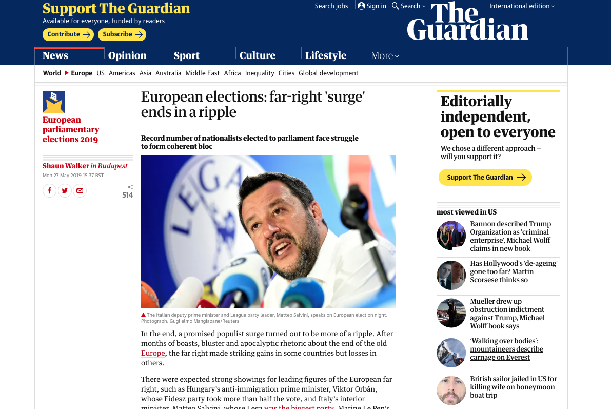 The Guardian — May 27, 2019