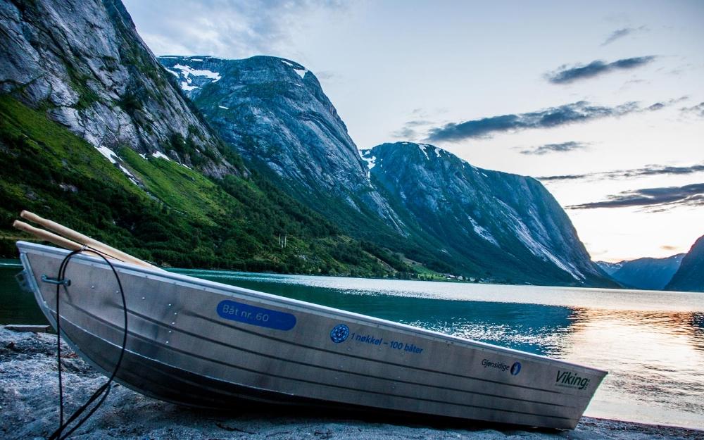 Kjøsnesfjorden NJFF ein nøkkel 100 båtar