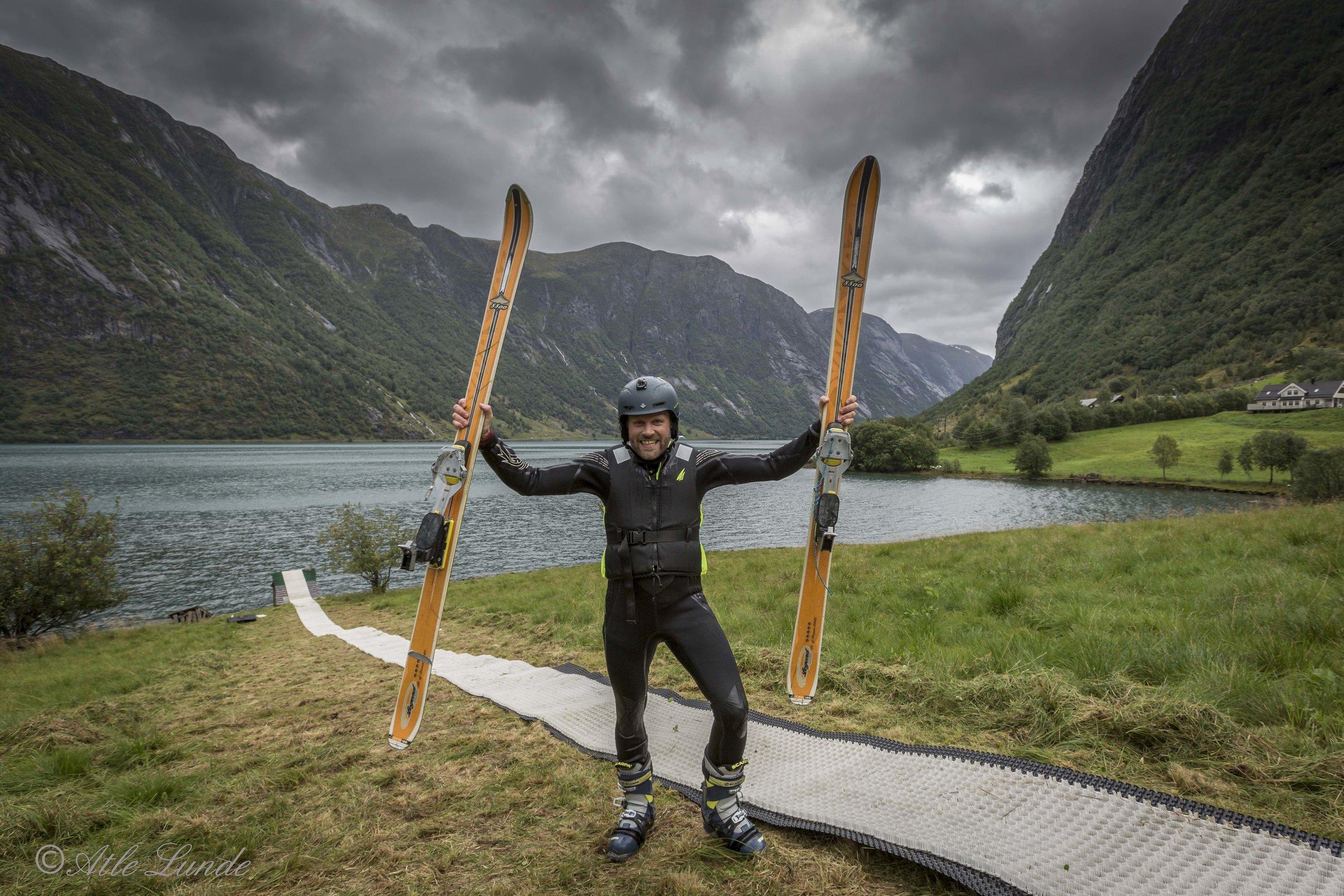 Olav Sægrov er klar for spektakulære svev, er du?