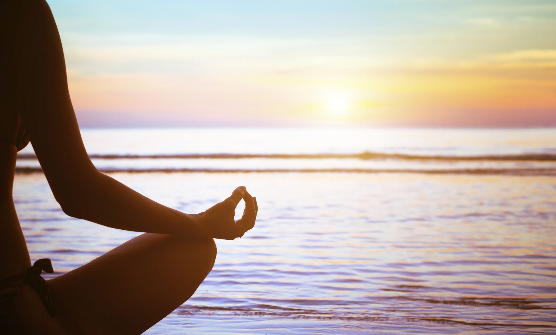 Summer time yoga
