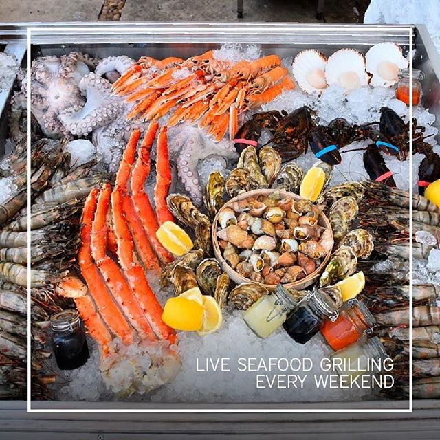 This & every weekend at @seasaltbeirut, live seafood grilling by the bay. #SeaSaltBeirut #lebanon #food #foodporn #yum #instafood #yummy #amazing #instagood #fresh #tasty #foodie #delish #delicious #eating #foodpic #foodpics #eat #hungry #foodgasm #hot #foods