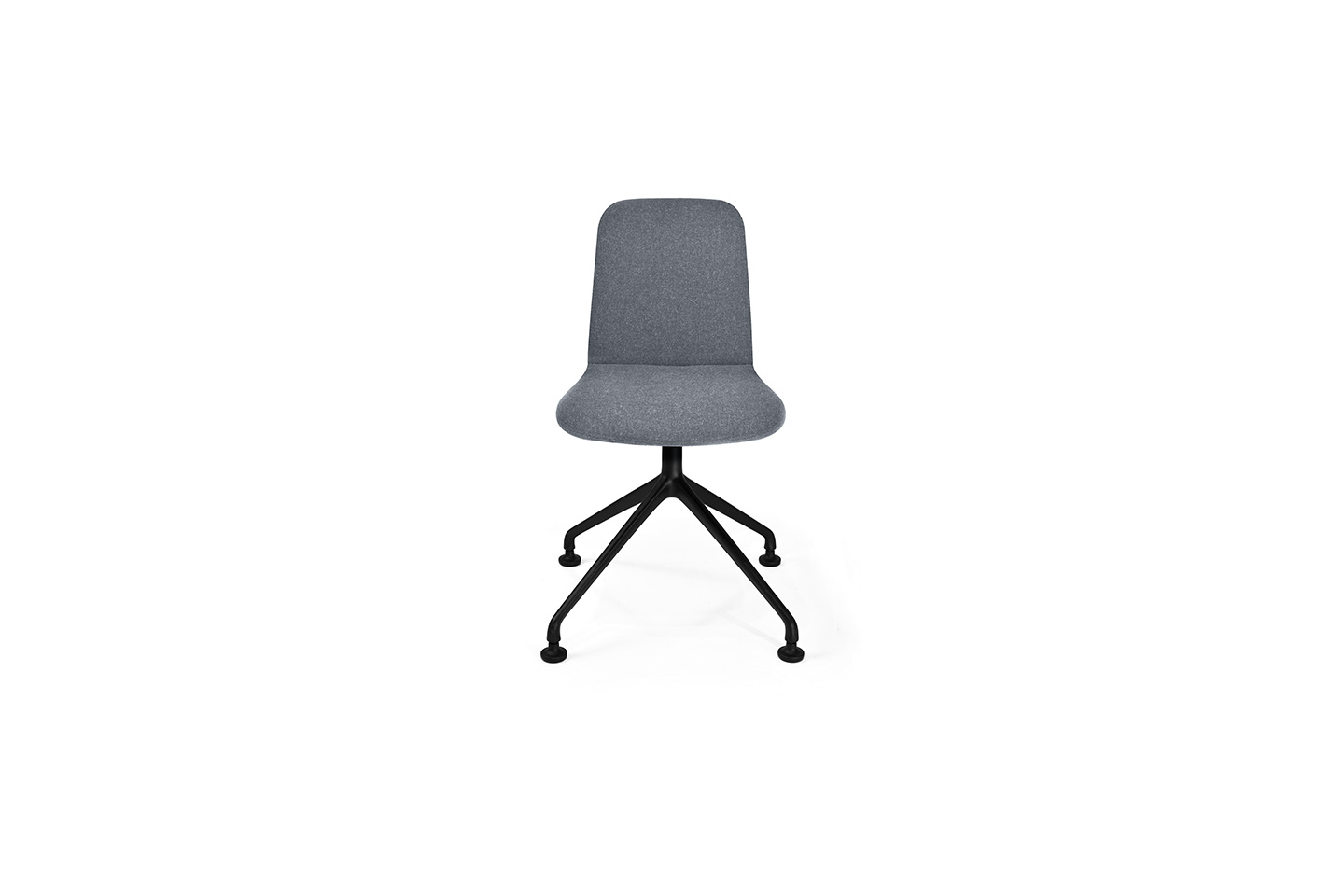 THIN Chair - Swiveling Starbase - Upholstered