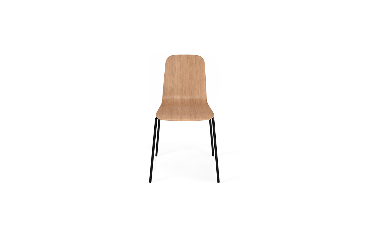 THIN Chair - Steel Base - Plywood