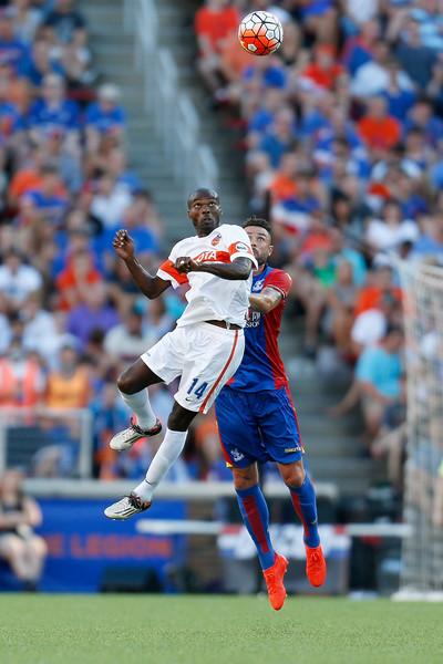 Allegedly, Jamaican International and MLS Cup winner Omar Cummings plays for FCC