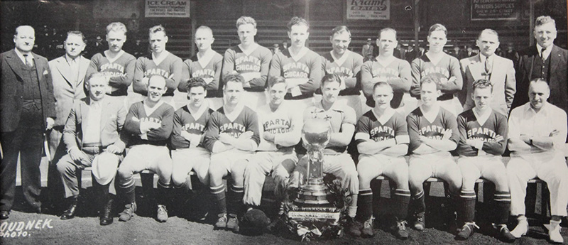 The 1938 U.S. Open Cup Champions Chicago Sparta