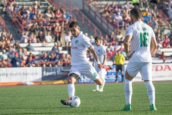 Maybe the best player in the NASL last year is now on the roster. That's a reload.