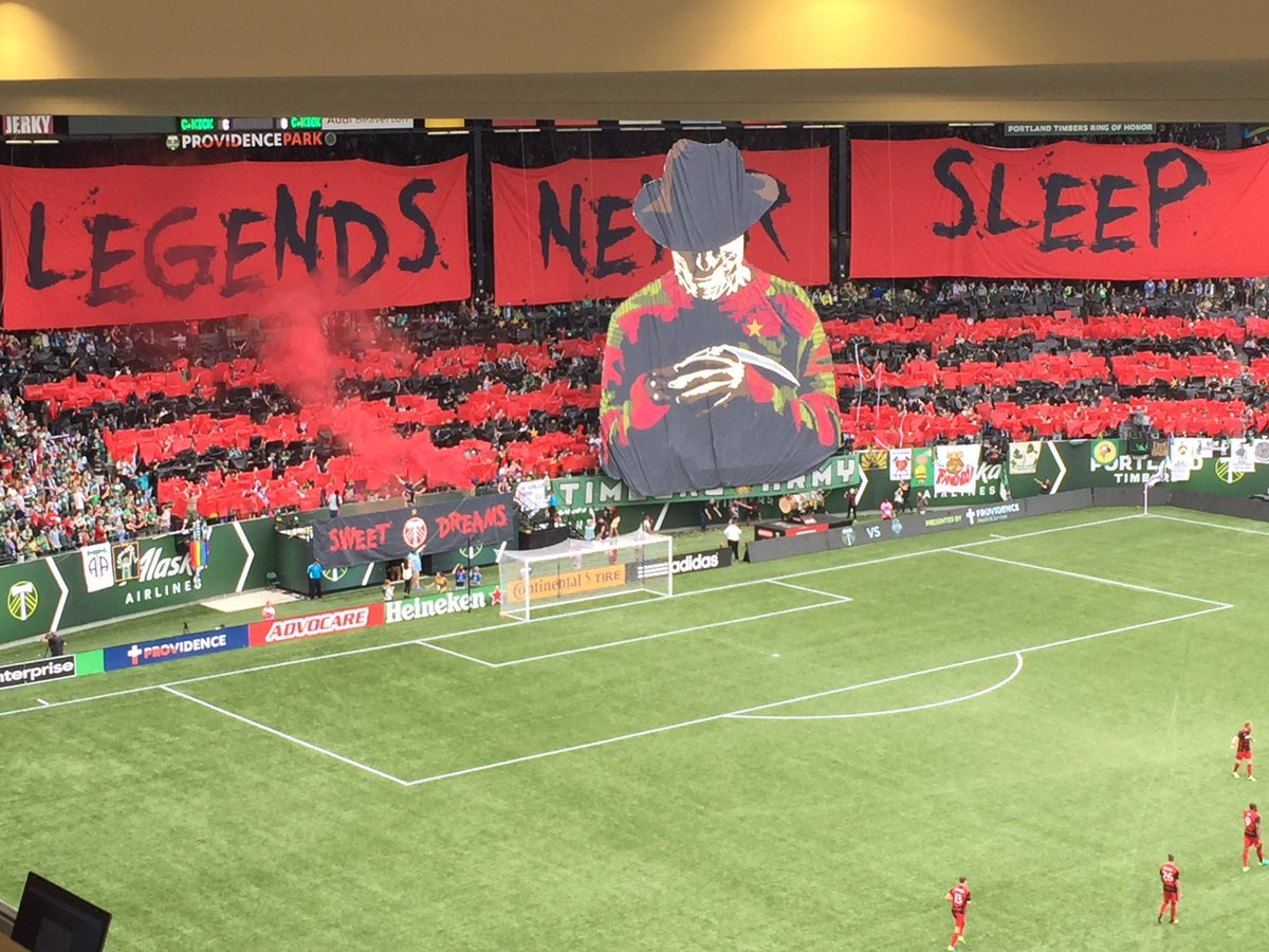 One of the best displays ever put on by MLS fans