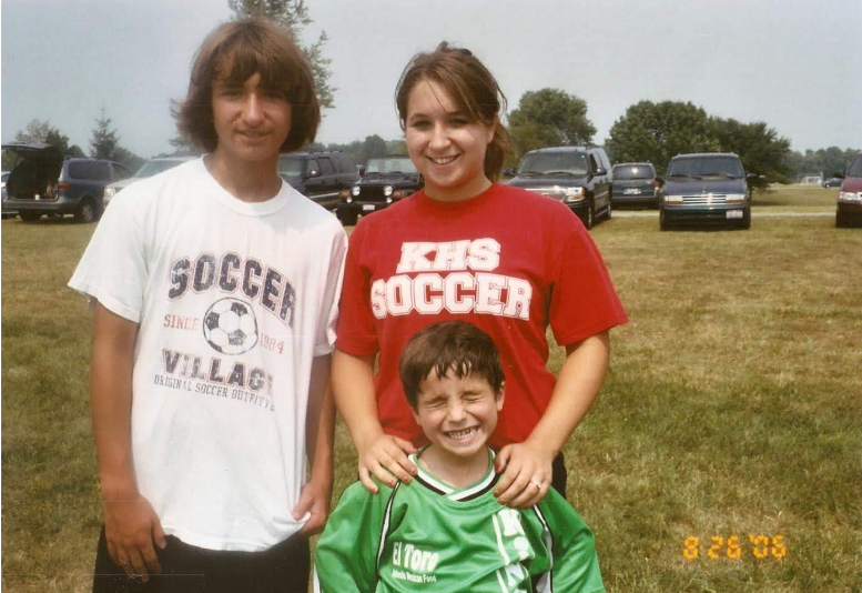 A soccer family! Who knew it could happen to me!