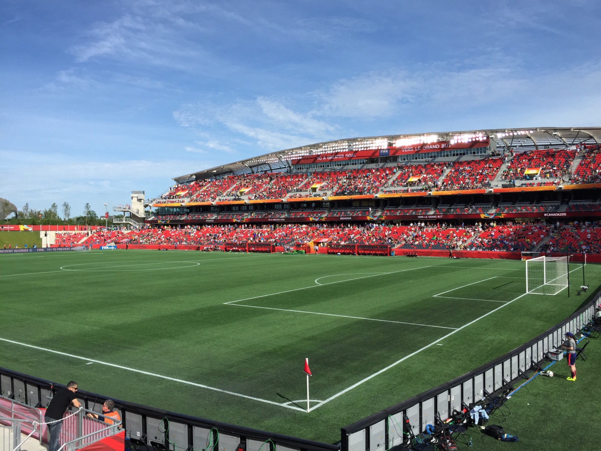 Fantastic lower division stadium, when Toronto fans aren't trying to burn it down