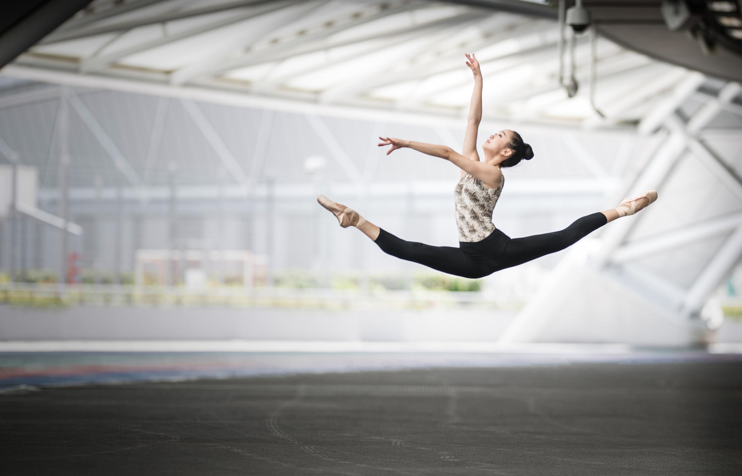 Wang Wen Wen with Balletlove.co