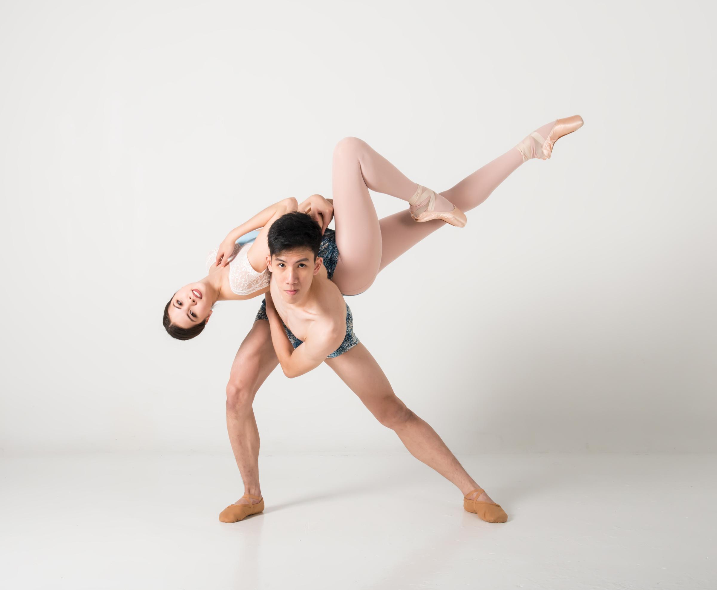 Ivan Lim and Anna Beeman in the Studio