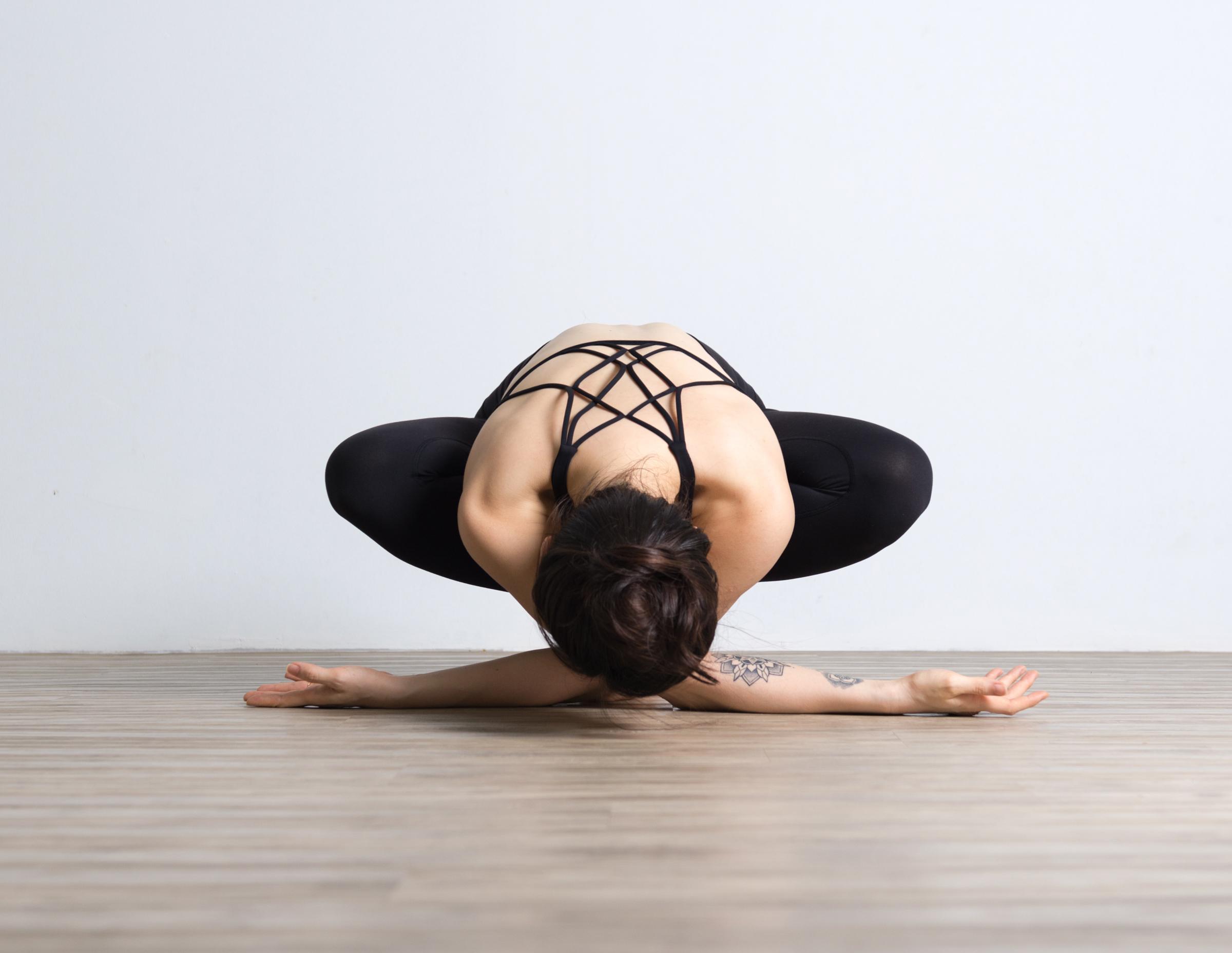 Rui in the Yoga Studio