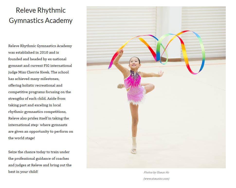 Releve Rhythmic Gymnastics