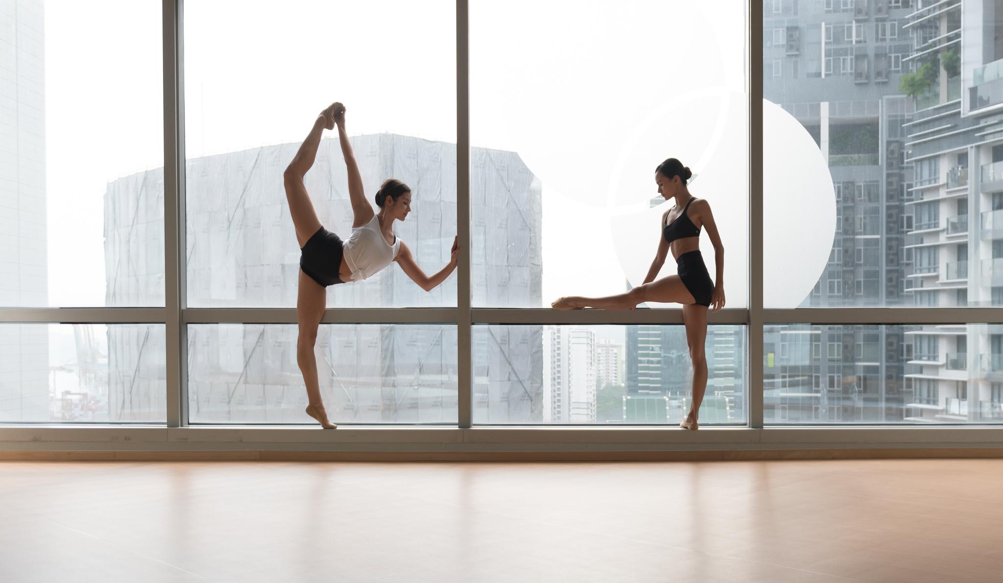 Lisha and Alison for BalletBody.sg